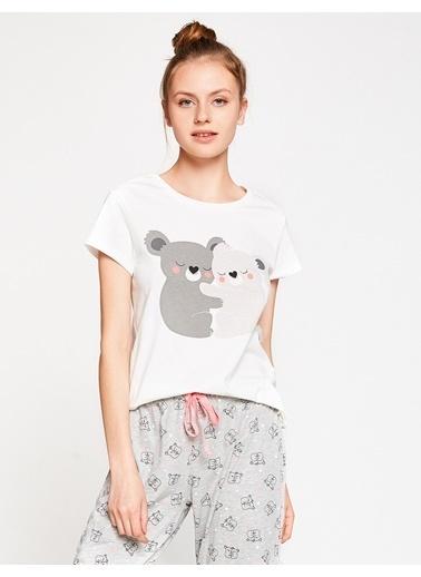 Koton Pijama Üstü Beyaz